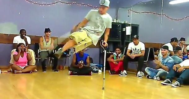 This One-Legged Breakdancer Will Amaze You
